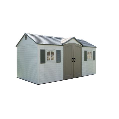 lifetime products 15ft x 8ft x 8ft resin storage building