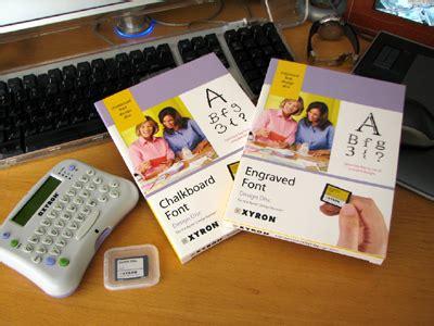 xyron design disc maker rainy day magazine january 2008 week 2