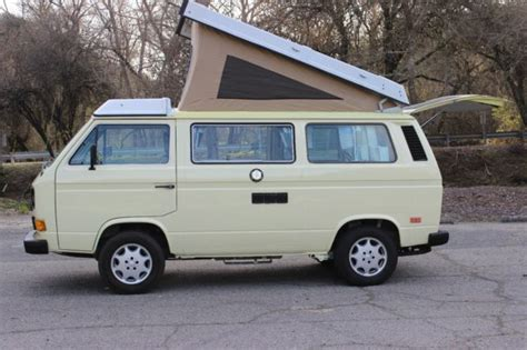 car repair manuals download 1984 volkswagen vanagon seat position control 1984 volkswagen westfalia with 2 5 subaru imprezza motor no reserve for sale volkswagen bus