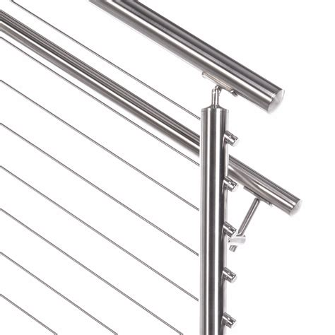 Stainless Steel Banister Rail by Stainless Steel 1 5 Quot Handrail 20ft Stick