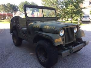 Jeep For Sale Nc Willys Jeep M38a1 For Sale Jeep M38a1 1953 For Sale In