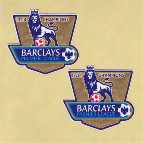 Fa Premier League Gold Chions Badges 2002 2003 Utd premier league chion 2013 2014 gold manchester united patch badges timix patch