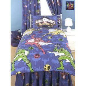 power rangers bedding amazon com power rangers duvet cover and pillowcase