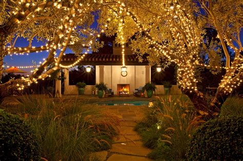 backyard lighting ideas for a party how to decorate your yard for autumn entertaining