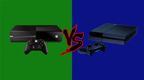xbox vs playstation the console war truly begins now gameondaily