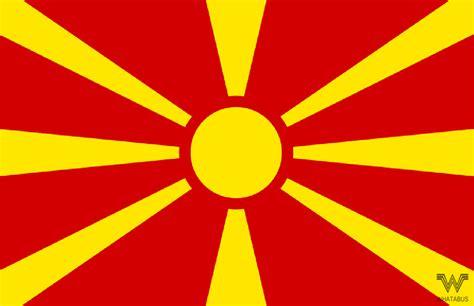 Aufkleber Länderflaggen by Flagge Mazedonien Aufkleber 8 5 X 5 5 Cm Whatabus Shop