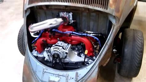 subaru boxer engine in vw beetle 58 71 05 vw beetle subaru update engine detail