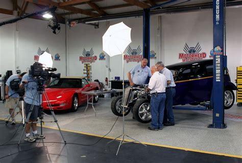 motorhead garage machine polishing with