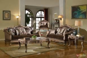 antique style traditional sofa loveseat luxury living room furniture bronze wood ebay