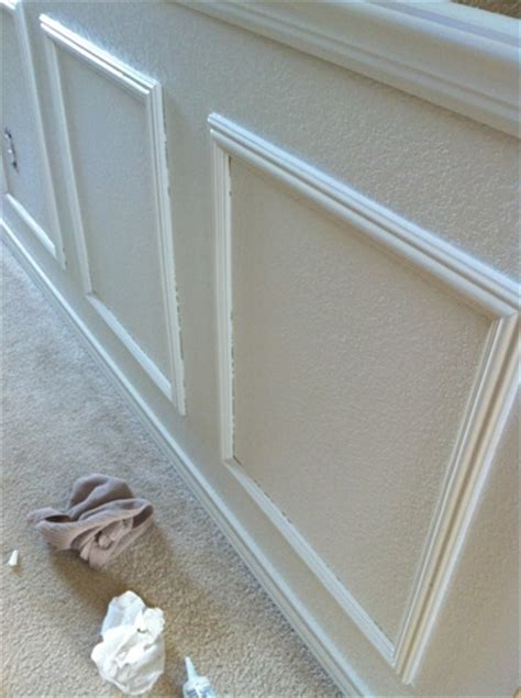 Caulking Wainscoting by How To Wainscoting Decorchick