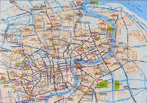 shanghai map maps of shanghai