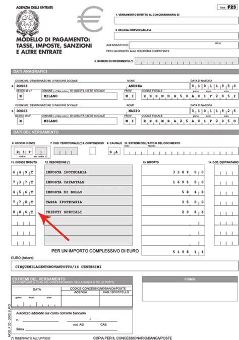 codice ufficio agenzia entrate aversa codici tributo per pagamento imposte successione