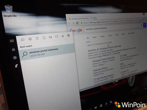 chrome untuk windows 10 tweak untuk membuat cortana menggunakan google search di