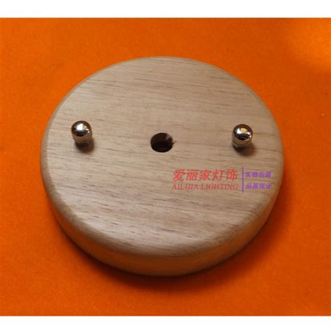 ceiling cover plate 1pcs lot 105mm 1 holder pendant lights ceiling plate wood
