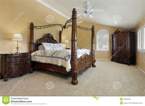 gold bedroom walls master bedroom with gold walls royalty free stock photo