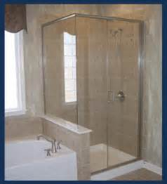 semi frameless shower door cost vision mirror shower door