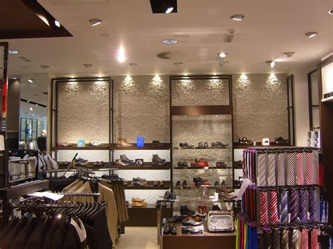 clothes shop interior wall home design architecture