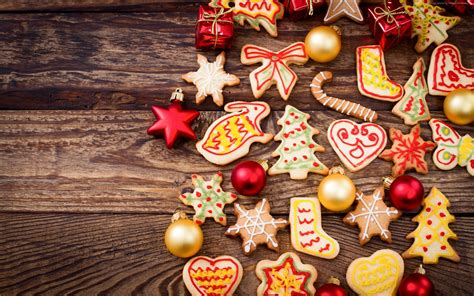 wallpaper christmas food 2560x1600 baking food holiday cookie shape