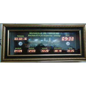 membuat jam digital waktu sholat jatiwangi jual jam digital masjid jam dinding jadwal