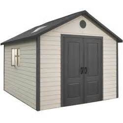 lifetime 11x11 plastic shed