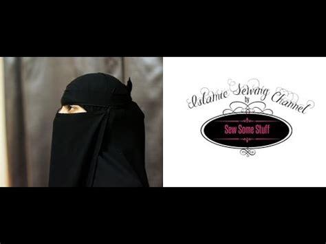 tutorial membuat niqab how to make purdah or half niqab doovi