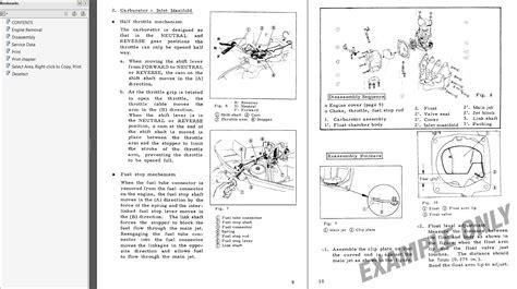 Honda Outboard Motor Manual