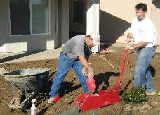 Landscape Edging Machine Rental How To Make Concrete Curbs