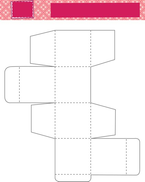 2 inch cube box template free download