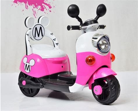 Mouse Elektrik mickey minnie mouse scooter