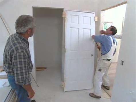 how to install a bedroom door how to install interior door modern colonial bob vila eps 2511 youtube