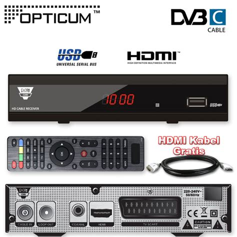 Kabel Hdmi Tv Sharp hdtv cable receiver hd kabel receiver opticum c200 usb tv dvb c cable hdmi cable