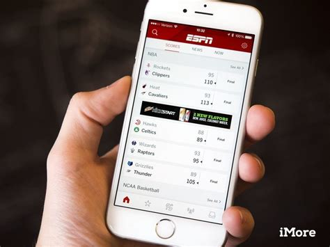 espn mobile app espn app gets reved with support for and
