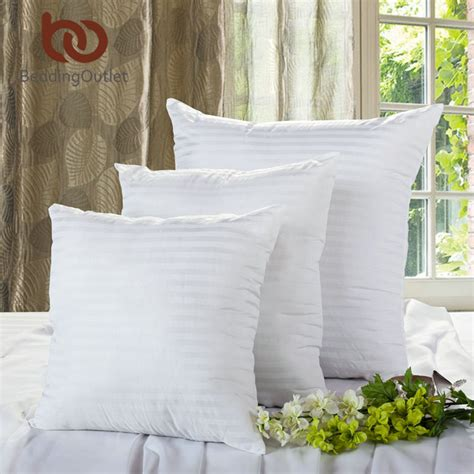 Pp Paket Protector 3 In 1 Matras Pillow Bolster Protector beddingoutlet white cushion insert soft pp cotton for car sofa chair throw pillow inner
