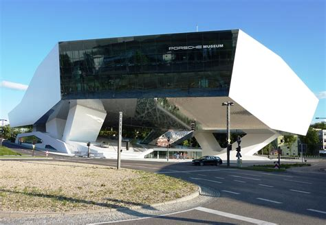 porsche museum structure porsche museum in stuttgart germany designed by delugan