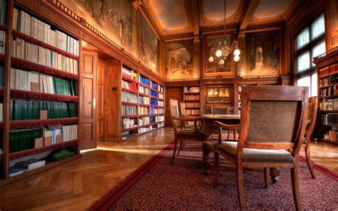 wallpaper scrivania sfondi costruzione libri biblioteca interior