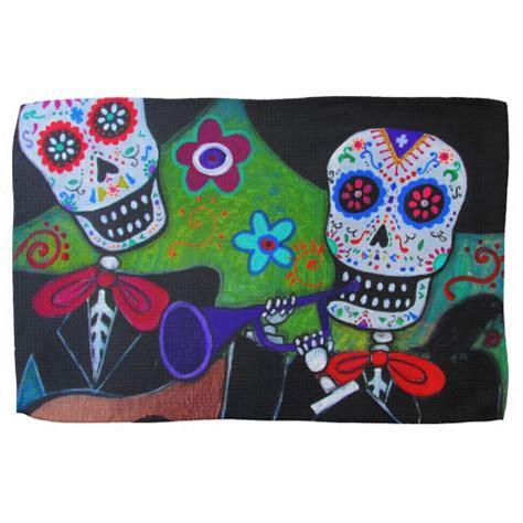 50 off dos amigos coupons dos amigos deals daily dos amigos dia de los muertos mariachi towel zazzle