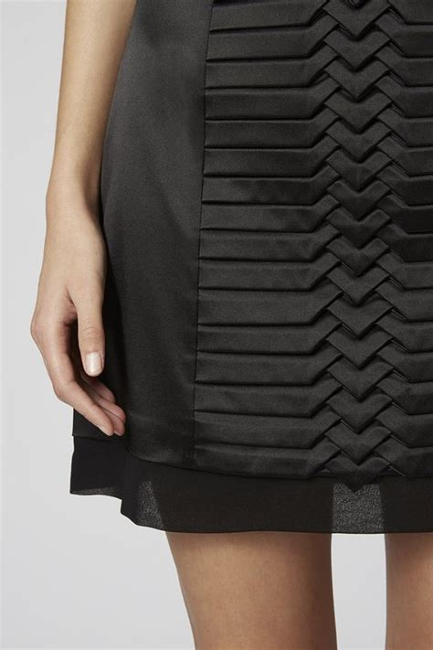 Black Origami Skirt - origami fashion black pleated skirt and pleated skirts on