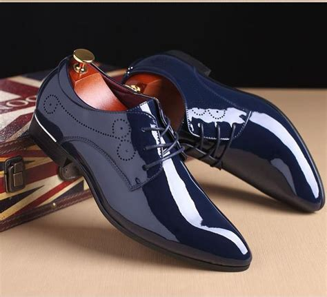 dress shoe 2018 shoes 2018 new patent leather s fashion dress shoes buy one get kaaum