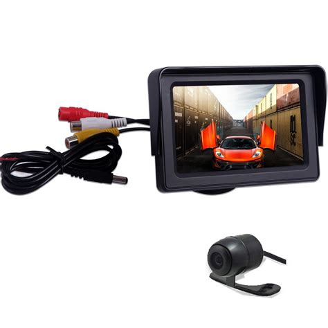 Monitor Lcd Vision eincar eincar car lcd monitor 4 3 inch hd tft led touch screen monitors with lcd