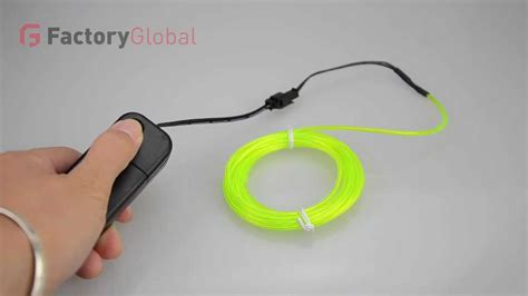 can you join neon rope youtube h8931 3m neon light el wire rope with controller