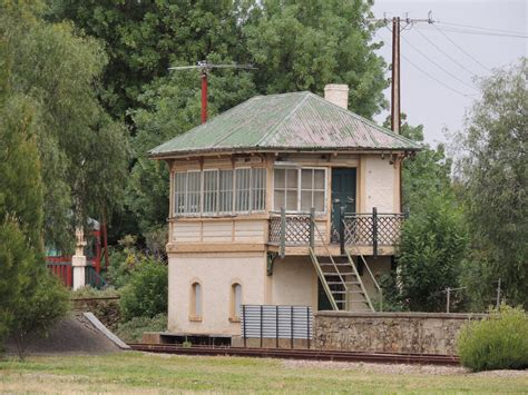 Signal Shed disused railway stations in the gilbert valley adelaide