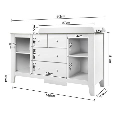 Change Your With The Change Cupboard by Drawer Baby Chest Change Table Dresser Cabinet White