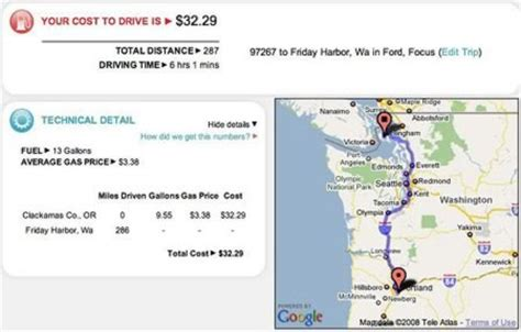 how to calculate the cost of driving travel tips wonderhowto