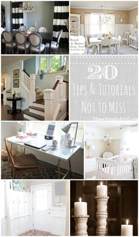 Home Decor Tutorial by 20 Tutorials And Tips Not To Miss Diy Projects Home