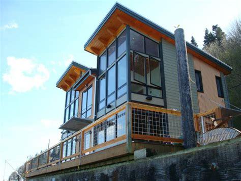 Kit Home Design Coast Camano Island Fabcab Is A Timber Frame Prefab Kit House In