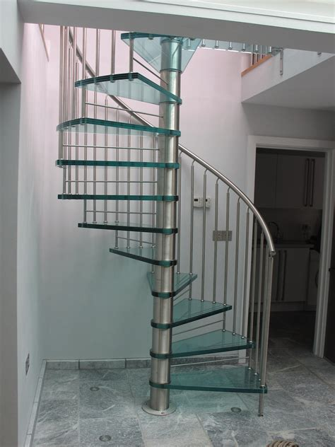 interior glass stair railing home stair design