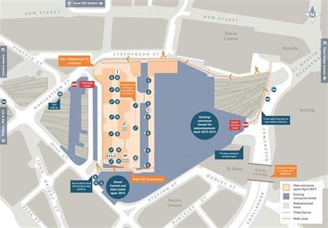 bullring floor plan changes to birmingham new street station heart west midlands