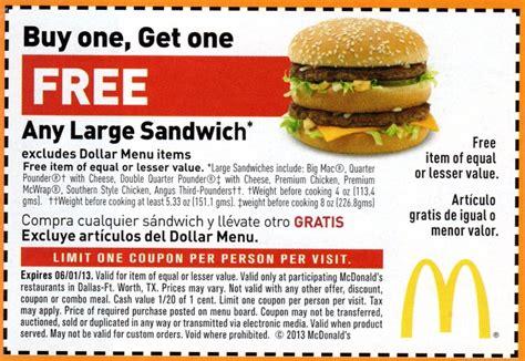 Free Mcdonalds Gift Card 2017 - mcdonalds breakfast coupon printable coupons online