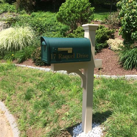 mailbox post with solar light 17 best images about new mailbox post and mailboxes on