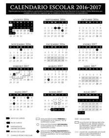 calendario escolar ujat 2016 2017 calendario escolar 2016 2017 gob mx gobierno gob mx